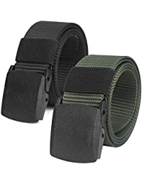 cfc1c89a778 (2 Pack) Mens Belts