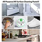The EcoGurus - Highest Strength Natural Cleaning Paste! - All Purpose Cleaner! - Clean Your Kitchen, Oven, Bathroom, Toilet, Limescale, Trainers, Surfaces, Garden, Furniture, BBQ, etc 12