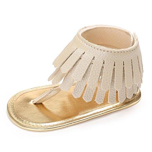 ❤️Chaussures de Bébé Sandales, Amlaiworld Été Chaussures de Fille Enfant Fleur Ssemelle Molle Sandales Sneakers Anti-dérapantes pour Bébés Pour 0-18 Mois