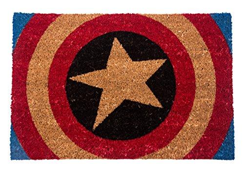 Stuoia di portello di scudo di Capitan America