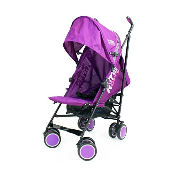 Zeta Citi Stroller Buggy Pushchair - Plum ZETA 12 Month FREE Warranty When Purchased and used from birth only. Warranty VOID If Purchased And Used For Babys Over 12 Months Lightweight stroller suitable for babies from Birth Umbrella fold for a compact folded size 2