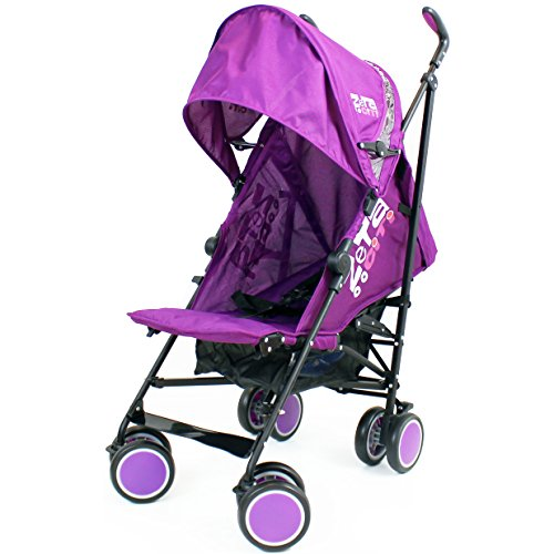 Zeta Citi Stroller Buggy Pushchair – Plum