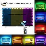 Tiras LED Iluminación (78.7in / 2m. en 4 bandas), Oritek USB RGB TV Retroiluminación LED operadas...