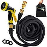 Avyvi 100ft Expandable Garden Hose Pipe【2 Years Warranty】 ALL NEW Flexible Magic Water