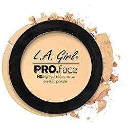 L.A. GIRL Classic Ivory: L. A. Girl PRO. Face HD High-Definition Matte Pressed Powder, 0.25 oz