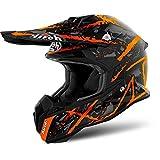 Airoh Helmet Terminator Open Vision Carnage, Orange, Größe M