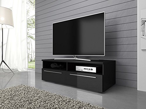 tv-element-tv-schrank-tv-stnder-entertainment-lowboard-vannes-100cm-korpus-schwarz-matte-fronten-sch