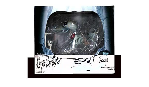 Corpse Bride Scraps The Dog Collectors Doll Toy Amazoncouk