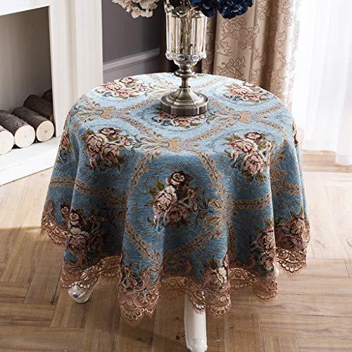 LSJT Runder Tischdecke Runder Tisch Tischdecke Stoff Tischdecke Tischdecke Couchtisch Tischdecke...