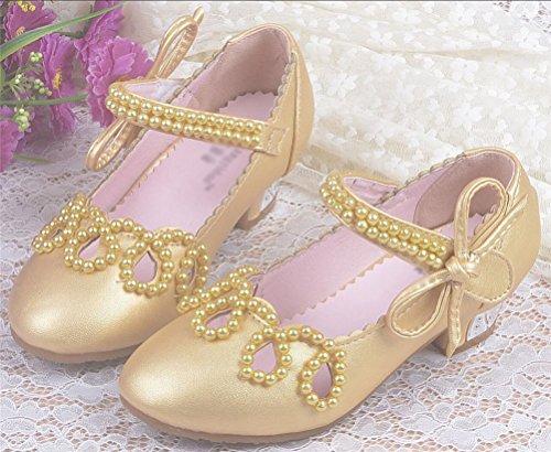Smith Sandália Traje Gr Crianças Sapatos Contas De Ouro Princesa Bailarinas Baixa A Vendas Casamento De De Estrada Sapatos 35 24 Meninas Xwgq6XPr