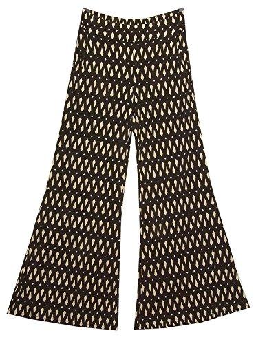Joseph Ribkoff, colore: nero e Beige 153774 Pantalone Culotte a campana beige pietra