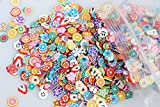 BrilliantDay 10000 Stück 3D fimo Cane Stick Flower Pattern Nail Art Tips DIY Dekoration Maniküre #2