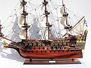 MAQUETTE DE BATEAU EN BOIS SOVEREIGN OF THE SEAS /1637/ 60cm
