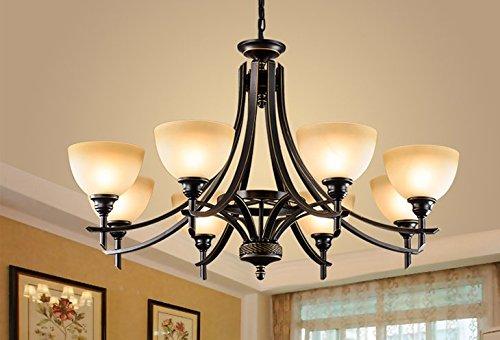 GS~LY ciondolo illuminazione lampadario moderno per cucina,C - Climat
