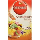 Canderel Sucralose au bon goût sucré 120 sticks 120 g - Lot de 4