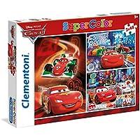 Disney - Puzzles, 3 x 48 piezas, diseño Cars (Clementoni 251971)