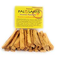 100 gr Palito Palo Santo® Árbol Sagrado Bursera Graveolens garantizado. Incienso natural, humo para ceremonias, purificación y ambientación