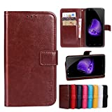 Homtom HT50 Wallet holster Cover Case Soft Material Cover