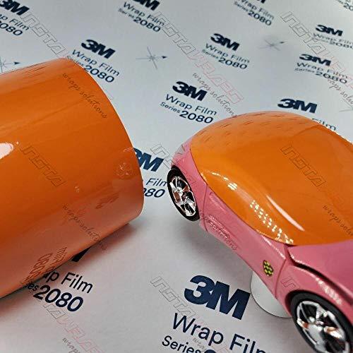 5ft x 1ft (5 Sq/ft) 3M GLOSS Burnt Orange G14 Scotchprint Car Wrap Vinyl Film 1080 Series by 3M