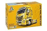 Italeri 510003898 - 1:24 Iveco Stralis Yellow Devil Lastwagen