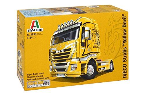 Italeri 3898 - iveco stralis yellow devil model kit  scala 1:24