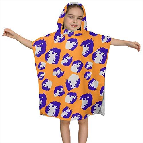 BigHappyShop Baby's Cute Hooded Bath Beach Towel Changing Spots Ultra Soft Quick Drying Super Soft Single Ply 100% Organic Cotton