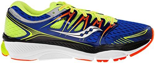 Zapatillas Para Correr Saucony Triumph 12, Azul / Amarillo / Naranja Azul / Amarillo / Naranja