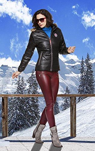 Nebulus, Giacca invernale Donna Kapuze Mounty Nero (Schwarz)