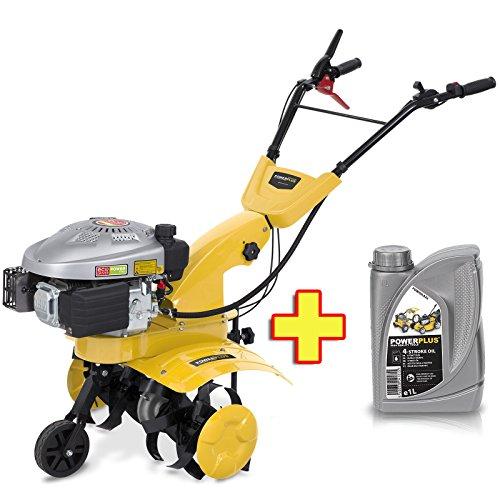 Benzin Gartenfräse / Kultivator 5 PS 173 ccm + 1l Motoröl