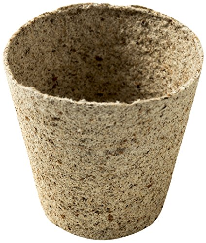 Jiffy Lot de 100 Cache-Pot en Fibre de Coco 8 cm