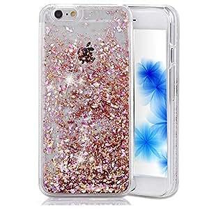 lowest price d8f50 764ef iPhone 5C Case Liquid iPhone 5C Case Glitter iPhone 5C Case Bling EMAXELERS  iPhone 5C Case Clear Har