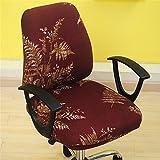Funda giratoria Kbsin212, de estilo sencillo, extraíble y elástica, para silla de oficina