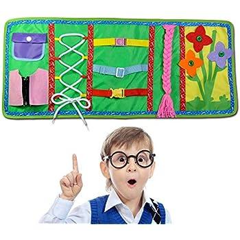 Jeu Peluche Montessori Enseignement Habiller pour Enfant. Jouets D/éveil