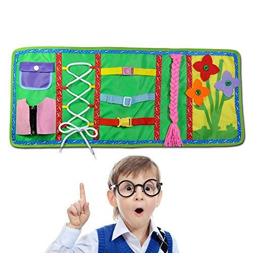FOONEE Montessori Aprender tableros de vestir