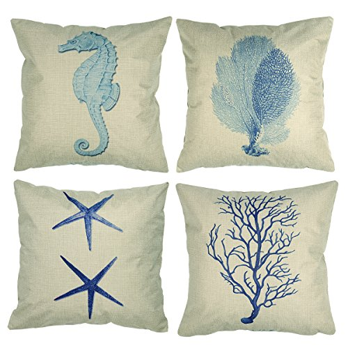 luxbon-tema-nautico-mare-set-di-4-cuscino-cover-resistente-cotone-lino-throw-pillow-case-cavalluccio