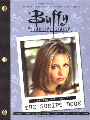 Click for larger image of Buffy the Vampire Slayer Script Book: Season 1, v. 1