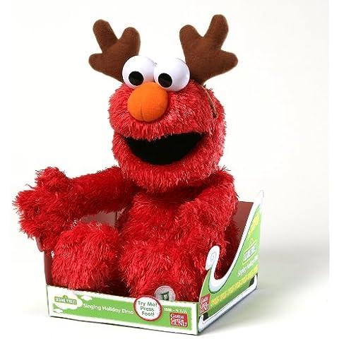 Gund - 35,5 centimetri Sesame Street Elmo a cantare per le vacanze