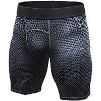 Hombre Compresión Shorts Tights Secado Rápido Pantalones Cortos De Fitness