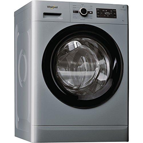 Whirlpool Uk Ltd FWG81496S 1400rpm Washing Machine 8kg Load Class A+++ Silver