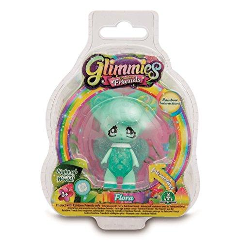 Glimmies - Serie 2 Blister 1 Figura Flora (Giochi Preziosi GLN00210)