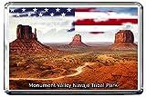 0125 MONUMENT VALLEY NAVAJO TRIBAL PARK KÜHLSCHRANKMAGNET USA LANDMARKS, USA ATTRACTIONS REFRIGERATOR MAGNET