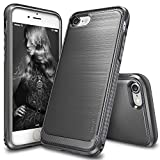 Custodia iPhone 7 Plus / iPhone 8 Plus, Ringke [ONYX] [Forza Resilient] Flessibile Resistenza, Durevole Anti-Slip, Il Caso di TPU Defensive per Apple iPhone 7 Plus - Mist Grey