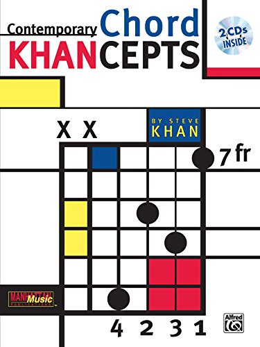 Contemporary Chord Khancepts +CD (Manhattan Music Publications)