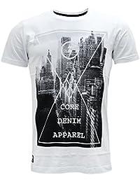 Dissident Mens T Shirt New White L