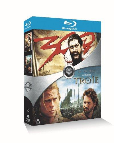 300 + Troie - Coffret 2 Blu-ray [Blu-ray] [FR Import]