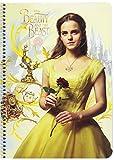 Die schöne und das Biest–Notizbuch Folio 80Blatt Hardcover (Safta 511708065)