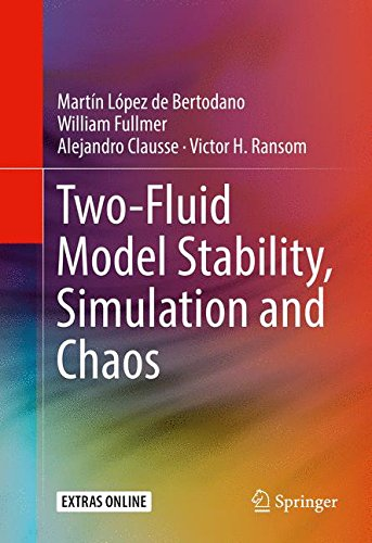 Two-Fluid Model Stability, Simulation and Chaos (Flüssigkeit Horizontale)