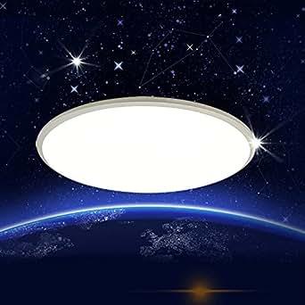stylehomeled ultralslim deckenlampe wandlampe badleuchte dimmbar mit fernbedienung nachtmodul. Black Bedroom Furniture Sets. Home Design Ideas