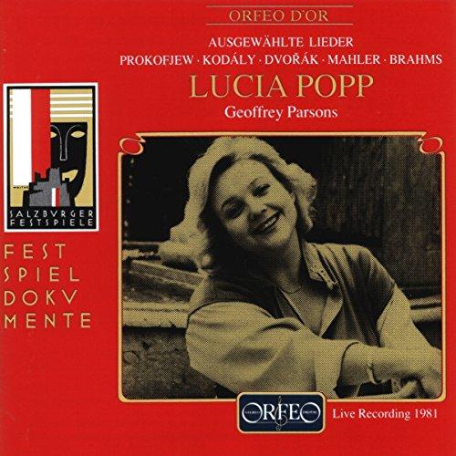 Lucia Popp - Récital de Lieder