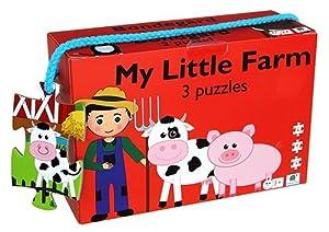 Barbo Toys Classic Barbo Toys 3 Puzzles La Granja (5929)